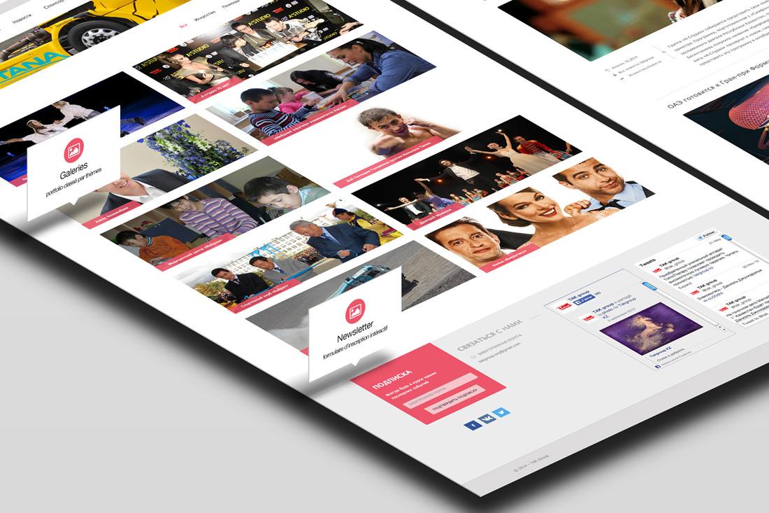 Création de site pour l'ONG TAK Group